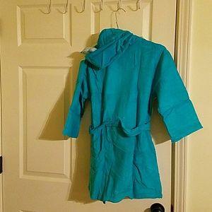 Saint Eve Swim Swim - Kids Hooded Robe Towel